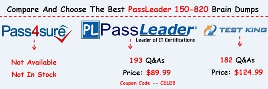 PassLeader 150-820 Exam Questions[26]