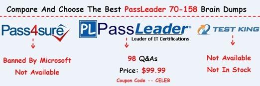 PassLeader 70-158 Exam Questions[34]
