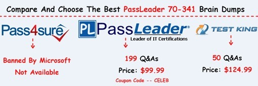 PassLeader 70-341 Exam Questions[25]