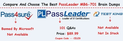 PassLeader MB6-701 Exam Questions[27]