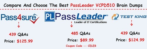 PassLeader VCPD510 Exam Questions[15]